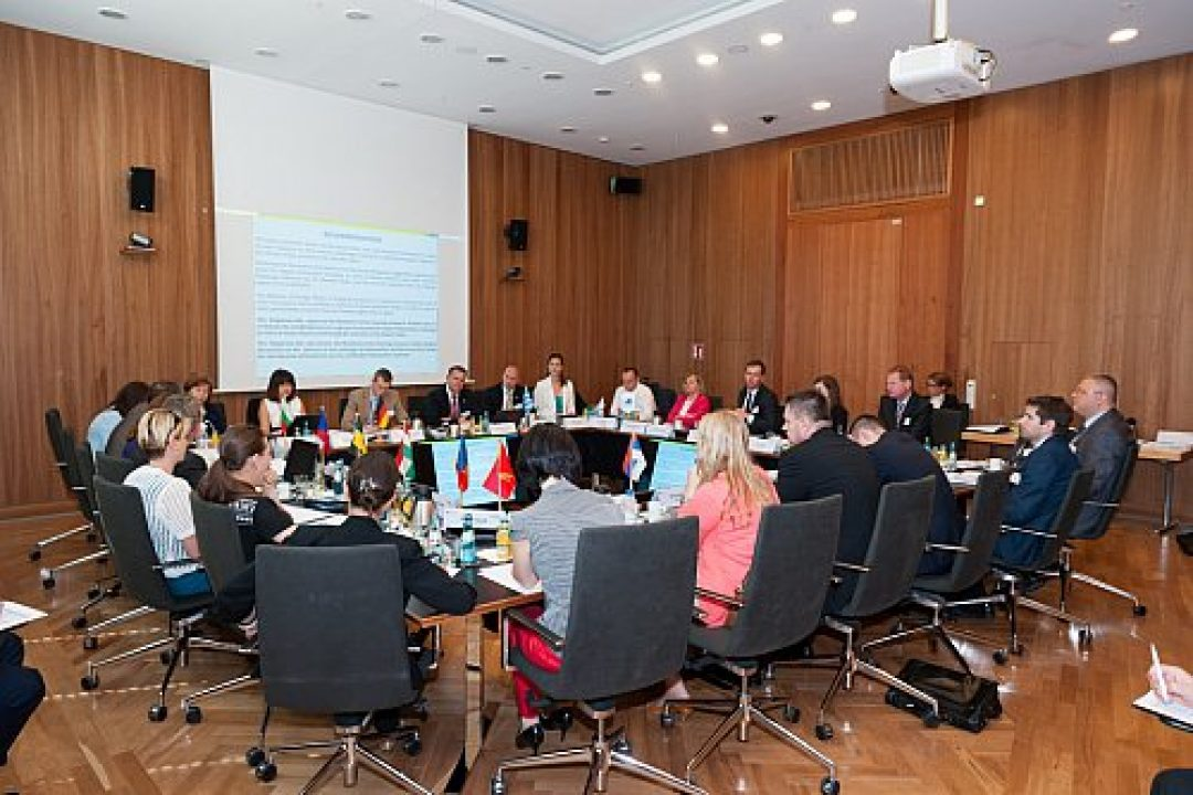 PA 11 9th Steering Group meeting took place in the Federal Ministry of the Interior