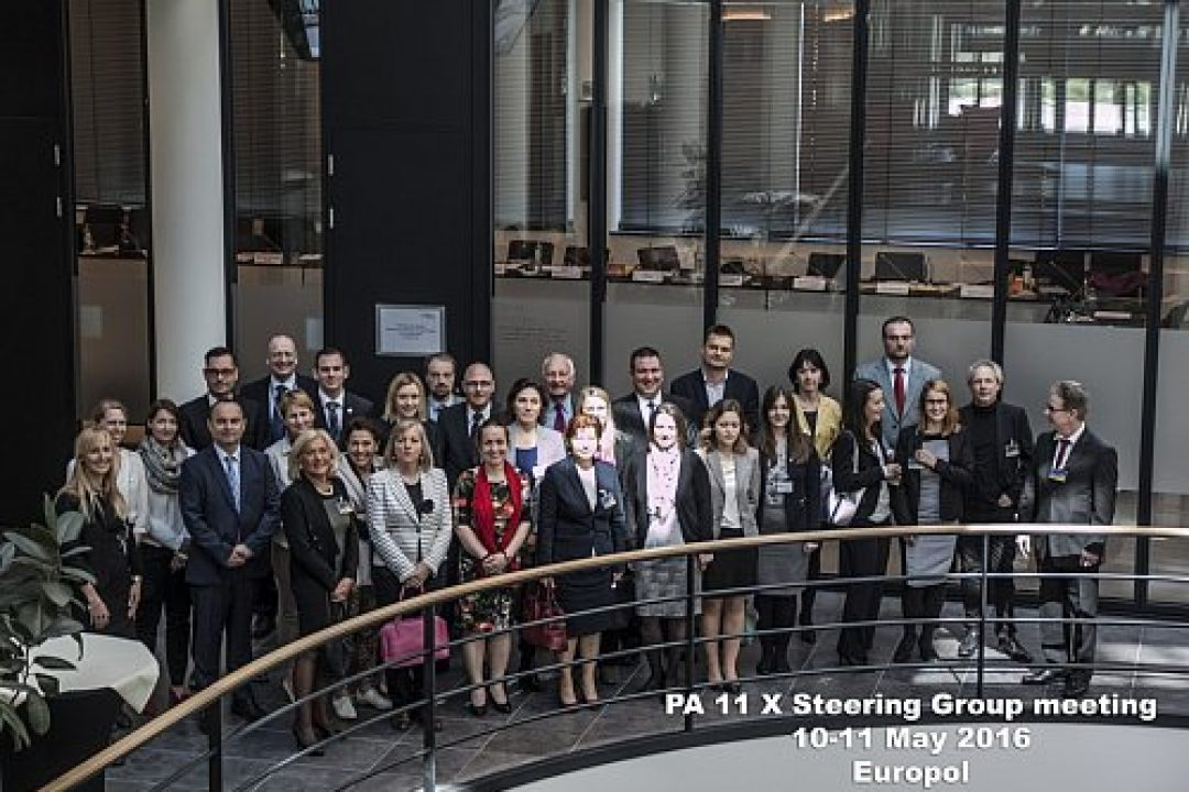 PA 11 X Steering Group meeting is taking place in the Europol Headquarters