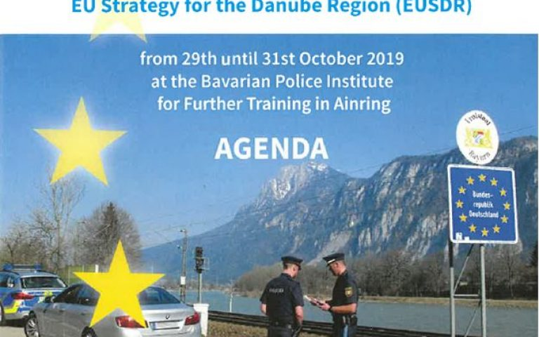 "Symposium ""Border Management and Enhancement of Border Police Cooperation within the Framework of the EU Strategy for the Danube Region (EUSDR), Priority Area 11"""